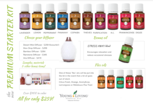Young Living Oils Start Pack