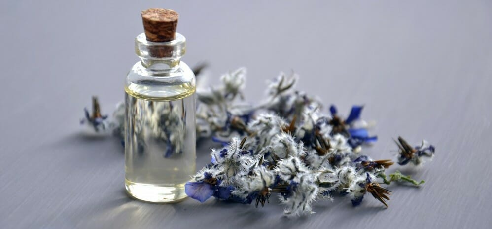 Lavender and Oil vial