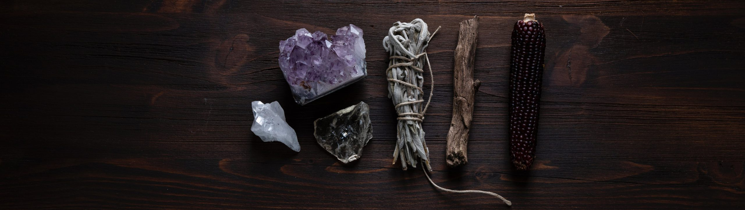 White Sage Smudge Sticks - crystals