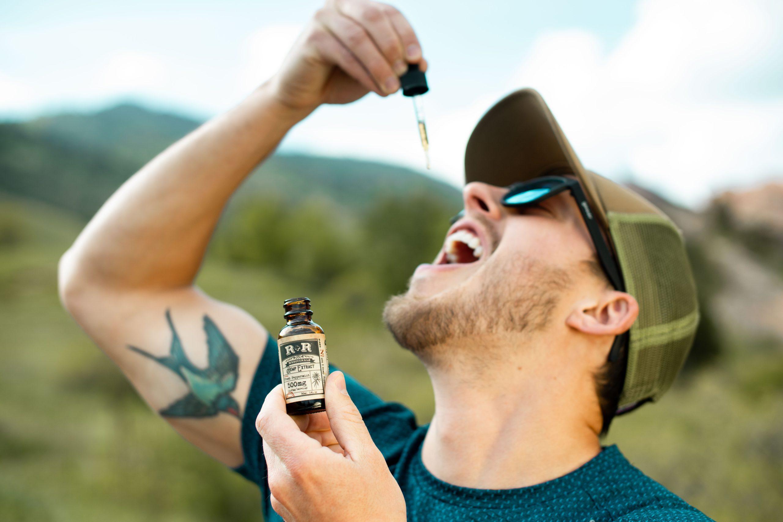 CBD Oil Benefits for Men - drops